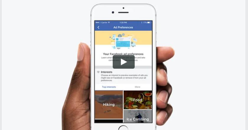Facebook Reklam Gösterimlerine Yeni Kontroller Getirdi