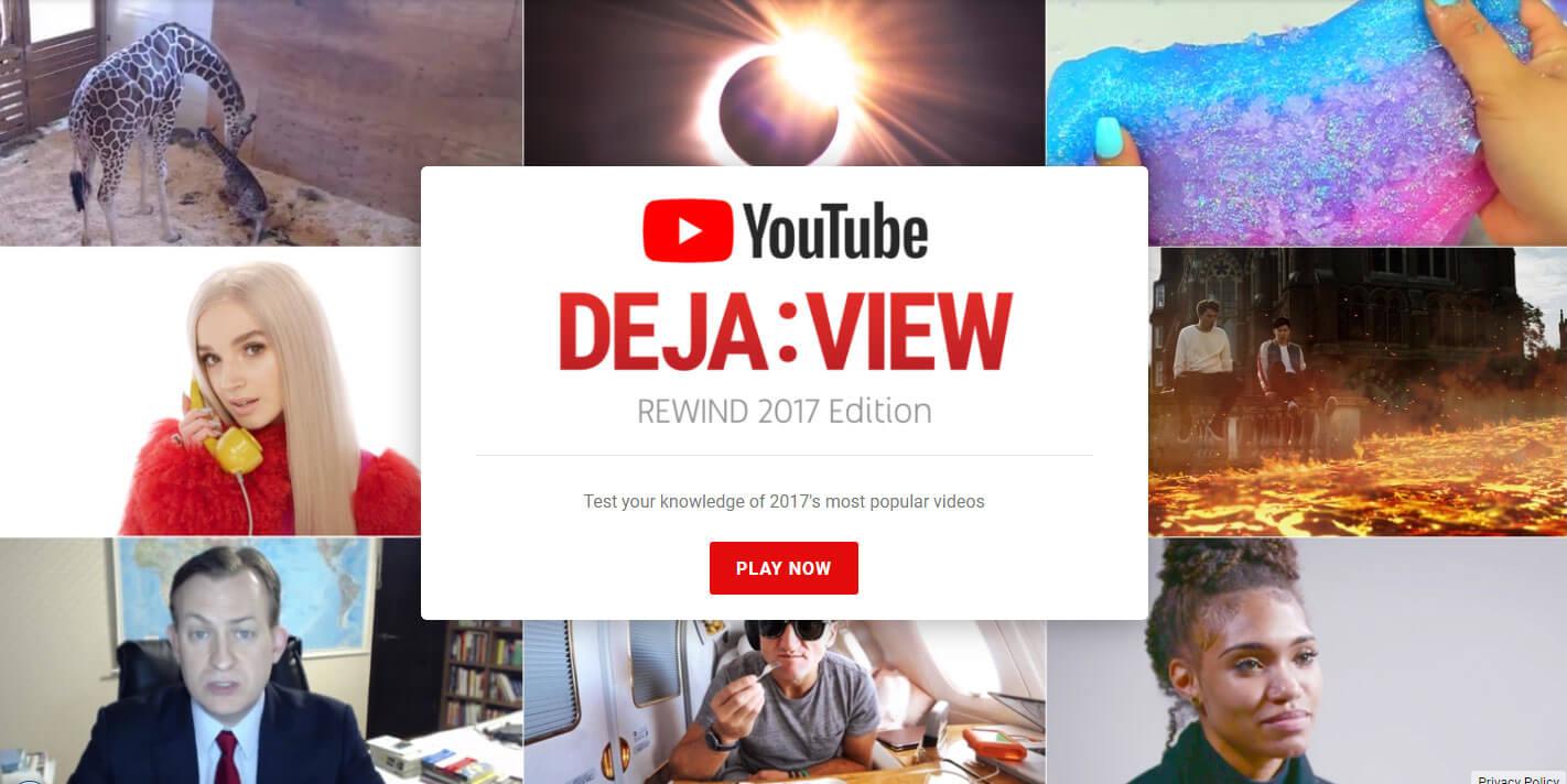 youtube deja view